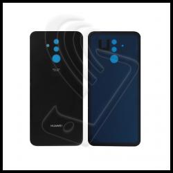 VETRO POSTERIORE SCOCCA Per Huawei Mate 20 Lite SNE-LX1 BACK COVER BATTERIA Colore Nero (Black)