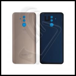 VETRO POSTERIORE SCOCCA Per Huawei Mate 20 Lite SNE-LX1 BACK COVER BATTERIA Colore Oro (Platinum Gold)