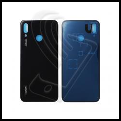 VETRO POSTERIORE SCOCCA Huawei P20 Lite BACK COVER COPRI BATTERIA Nero Black