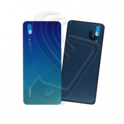 VETRO POSTERIORE SCOCCA Per Huawei P20 EML-L09 L29 BACK COVER COPRI BATTERIA Colore Blu (Blue)