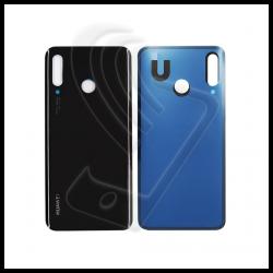 VETRO POSTERIORE SCOCCA Huawei P30 Lite MAR-LX1M LX2J LX1A BACK COVER BATTERIA Colore Nero (Midnight Black) 24MP