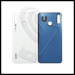 VETRO POSTERIORE SCOCCA Huawei P30 Lite MAR-LX1M LX2J LX1A BACK COVER BATTERIA Colore Bianco (Pearl White) 24MP