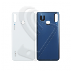 VETRO POSTERIORE SCOCCA Huawei P30 Lite MAR-LX1M LX2J LX1A BACK COVER BATTERIA Colore Bianco (Pearl White) 48MP
