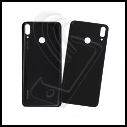 VETRO POSTERIORE SCOCCA Per Huawei Y9 2019 JKM-LX1 LX2 LX3 BACK COVER BATTERIA Colore Nero (Black)