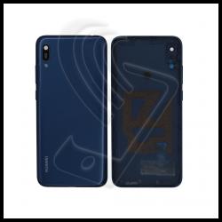 SCOCCA POSTERIORE PLASTICA Per Huawei Y6 2019 MRD-LX1 BACK COVER COPRI BATTERIA Colore Blu (Blue)