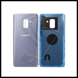 VETRO POSTERIORE SCOCCA Samsung Galaxy A8 2018 A530F BACK COVER Grigio Orchidea