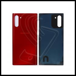 Vetro posteriore back cover per Samsung Galaxy Note 10 5G Rosso
