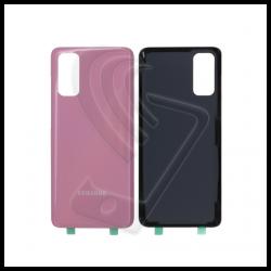 Vetro posteriore back cover per Samsung Galaxy S20 G980F rosa