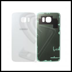 VETRO POSTERIORE SCOCCA Samsung Galaxy S6 G920F BACK COVER Bianco White