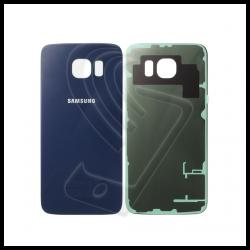 VETRO POSTERIORE SCOCCA Samsung Galaxy S6 G920F BACK COVER Nero/Blu
