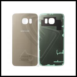 VETRO POSTERIORE SCOCCA Samsung Galaxy S6 G920F BACK COVER Oro Gold