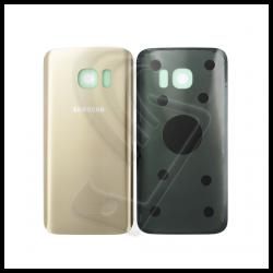 VETRO POSTERIORE SCOCCA Samsung Galaxy S7 G930F BACK COVER Oro Gold