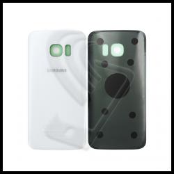 VETRO POSTERIORE SCOCCA Samsung Galaxy S7 G930F BACK COVER Bianco White
