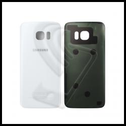 VETRO POSTERIORE SCOCCA Samsung Galaxy S7 Edge G935F BACK COVER Bianco White