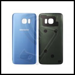 VETRO POSTERIORE SCOCCA Samsung Galaxy S7 Edge G935F BACK COVER Blu Coral Blue