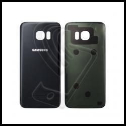 VETRO POSTERIORE SCOCCA Samsung Galaxy S7 Edge G935F BACK COVER Nero Black