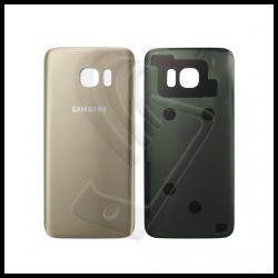 VETRO POSTERIORE SCOCCA Samsung Galaxy S7 Edge G935F BACK COVER Oro Gold