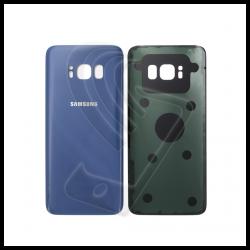 VETRO POSTERIORE SCOCCA Samsung Galaxy S8 G950F BACK COVER Blu Coral Blue