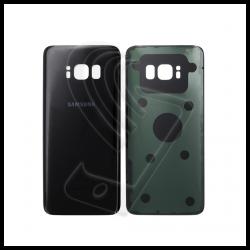 VETRO POSTERIORE SCOCCA Samsung Galaxy S8 G950F BACK COVER Nero Black