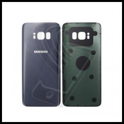 VETRO POSTERIORE SCOCCA Samsung Galaxy S8 G950F BACK COVER Grigio Orchidea