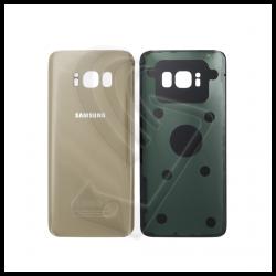 VETRO POSTERIORE SCOCCA Samsung Galaxy S8 G950F BACK COVER Oro Gold