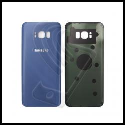 VETRO POSTERIORE SCOCCA Samsung Galaxy S8 Plus G955F BACK COVER Blu Coral Blue
