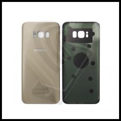 VETRO POSTERIORE SCOCCA Samsung Galaxy S8 Plus G955F BACK COVER Oro Gold