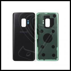 VETRO POSTERIORE SCOCCA Samsung Galaxy S9 G960F BACK COVER Nero (Midnight Black)