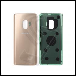 VETRO POSTERIORE SCOCCA Samsung Galaxy S9 G960F BACK COVER Oro (Sunrise Gold)