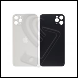Vetro back cover posteriore per iPhone 11 Pro Max big hole bianco