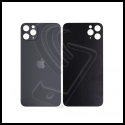 Back cover vetro posteriore big hole Apple iPhone 11 Pro Max nero