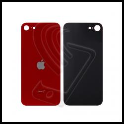 Back cover vetro posteriore per Apple iPhone SE 2020 rosso