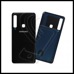 VETRO POSTERIORE SCOCCA PER Samsung Galaxy A9 2018 SM-A920F A920 BACK COVER Colore Nero (Black)