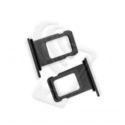 CARRELLO SLOT SIM Per APPLE iPhone 11 PRO/ 11 PRO MAX VASSOIO LETTORE TRAY Nero / Black