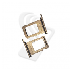 CARRELLO SLOT SIM Per APPLE iPhone 11 PRO/ 11 PRO MAX VASSOIO LETTORE TRAY Oro / Gold