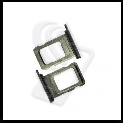 CARRELLO SLOT SIM Per APPLE iPhone 11 PRO/ 11 PRO MAX VASSOIO LETTORE TRAY Verde / Green