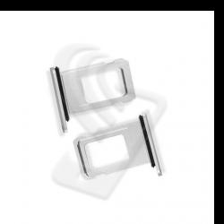 CARRELLO SLOT SIM Per APPLE iPhone 11 VASSOIO LETTORE TRAY Argento / Bianco