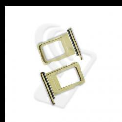 CARRELLO SLOT SIM Per APPLE iPhone 11 VASSOIO LETTORE TRAY Giallo / Yellow