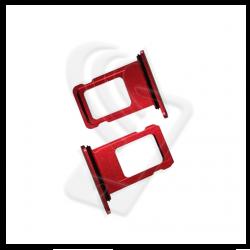 CARRELLO SLOT SIM Per APPLE iPhone 11 VASSOIO LETTORE TRAY Rosso / Red