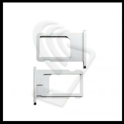 CARRELLO SLOT SIM Per APPLE iPhone 6 VASSOIO LETTORE TRAY Argento / Bianco