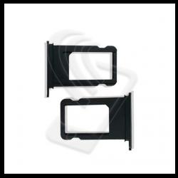 CARRELLO SLOT SIM Per APPLE iPhone 7 VASSOIO LETTORE TRAY Nero / Black