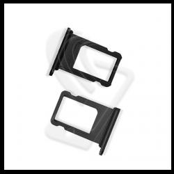 CARRELLO SLOT SIM Per APPLE iPhone 8 VASSOIO LETTORE TRAY Nero / Black
