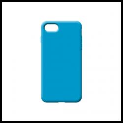 Cover morbida in silicone per Apple iPhone 6G azzurro