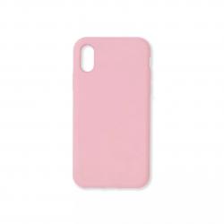 Cover morbida in silicone per Apple iPhone X e iPhone XS rosa
