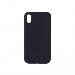 Cover morbida in silicone per Apple iPhone XR nero