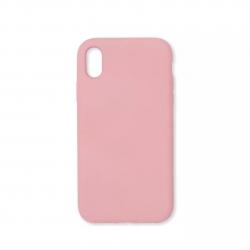 Cover morbida in silicone per Apple iPhone XR rosa