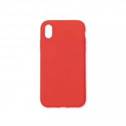 Cover morbida in silicone per Apple iPhone XR rosso