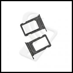 CARRELLO SLOT SIM Per APPLE iPhone XS MAX VASSOIO LETTORE TRAY Nero / Black