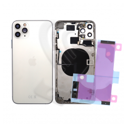 Back cover per Apple iPhone 11 Pro argento