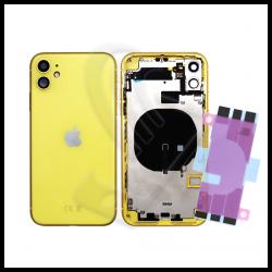 Scocca posteriore con flex per Apple iPhone 11 giallo